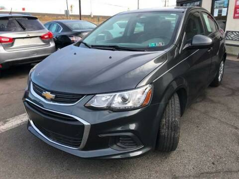 2017 Chevrolet Sonic for sale at Luxury Unlimited Auto Sales Inc. in Trevose PA