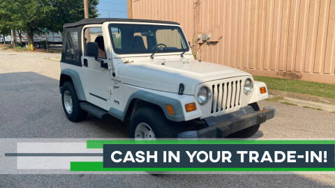 1999 Jeep Wrangler for sale at Horizon Auto Sales in Raleigh NC