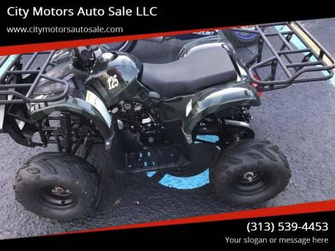 2016 Tao Tao quad for sale at City Motors Auto Sale LLC in Redford MI