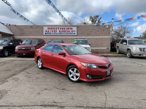 2013 Toyota Camry for sale at Brothers Auto Group in Youngstown OH