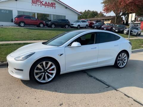 2019 Tesla Model 3 for sale at Efkamp Auto Sales LLC in Des Moines IA