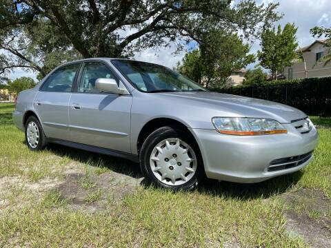 2001 Honda Accord for sale at Kaler Auto Sales in Wilton Manors FL