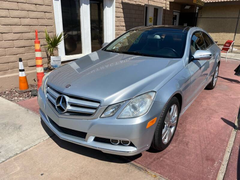 2010 Mercedes-Benz E-Class for sale at CONTRACT AUTOMOTIVE in Las Vegas NV