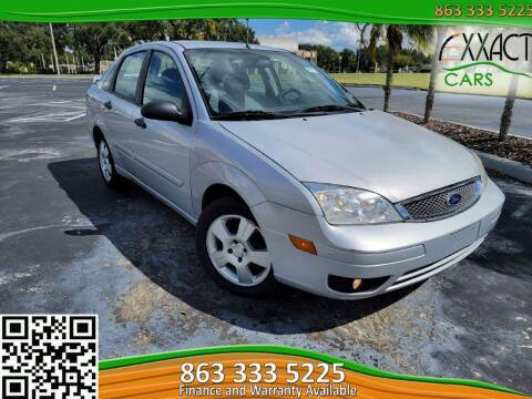2007 Ford Focus for sale at Exxact Cars in Lakeland FL