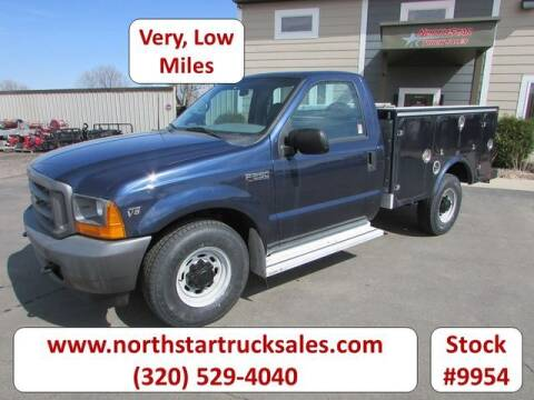 2001 Ford F-250 Super Duty for sale at NorthStar Truck Sales in St Cloud MN