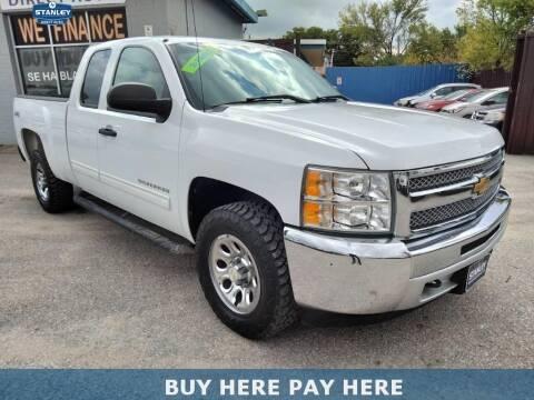2012 Chevrolet Silverado 1500 for sale at Stanley Direct Auto in Mesquite TX