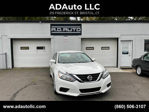 2017 Nissan Altima for sale at ADAuto LLC in Bristol CT