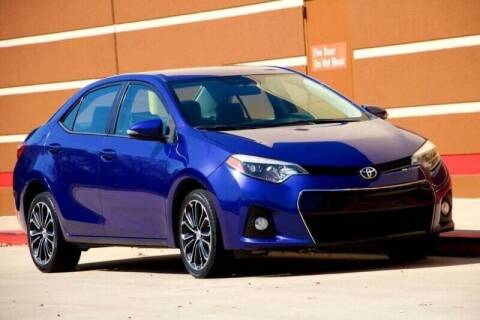 2016 Toyota Corolla for sale at Auto Hunters in Houston TX