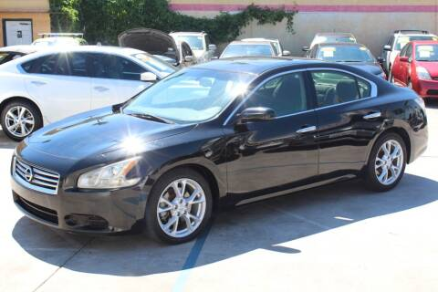 2012 Nissan Maxima for sale at FJ Auto Sales in North Hollywood CA