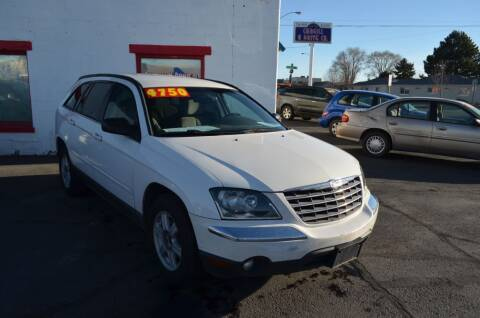 2004 Chrysler Pacifica for sale at CARGILL U DRIVE USED CARS in Twin Falls ID