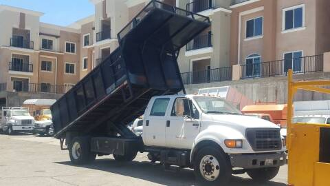 2001 Ford F-650 Super Duty for sale at Vehicle Center in Rosemead CA