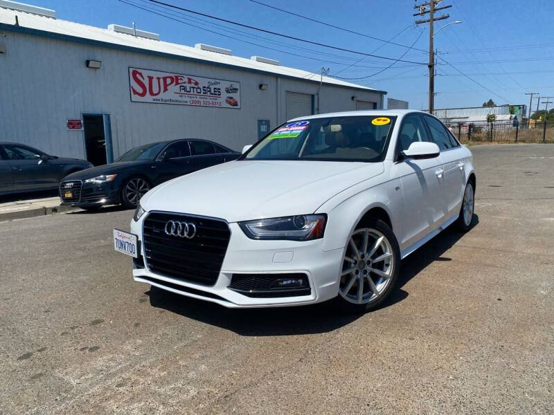 2015 Audi A4 for sale at SUPER AUTO SALES STOCKTON in Stockton CA