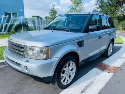 2008 Land Rover Range Rover Sport for sale at LA Motors Miami in Miami FL