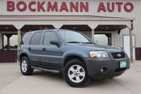 2006 Ford Escape for sale at Bockmann Auto Sales in St. Paul NE