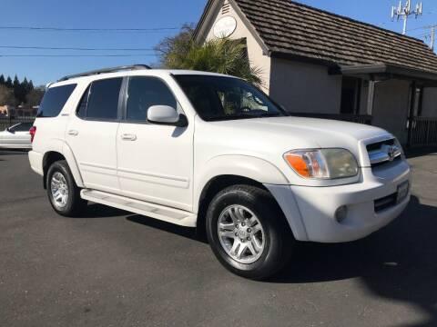 2006 Toyota Sequoia for sale at Three Bridges Auto Sales in Fair Oaks CA
