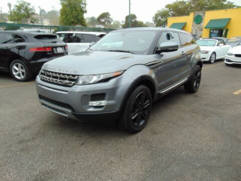 2013 Land Rover Range Rover Evoque Coupe for sale at Santa Monica Suvs in Santa Monica CA