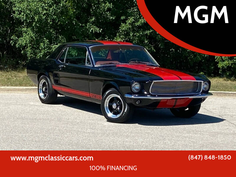 1967 Ford Mustang for sale at MGM CLASSIC CARS in Addison IL