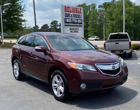 2014 Acura RDX for sale at Reliable Cars & Trucks LLC in Raleigh NC