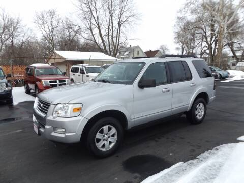 2010 Ford Explorer for sale at Goodman Auto Sales in Lima OH