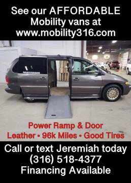 1998 Chrysler Town and Country for sale at Affordable Mobility Solutions, LLC - Mobility/Wheelchair Accessible Inventory-Wichita in Wichita KS