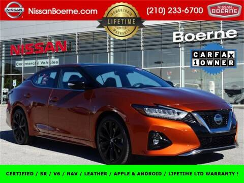 2020 Nissan Maxima for sale at Nissan of Boerne in Boerne TX