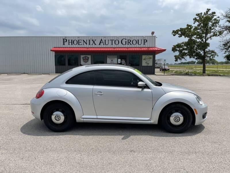 2015 Volkswagen Beetle for sale at PHOENIX AUTO GROUP in Belton TX
