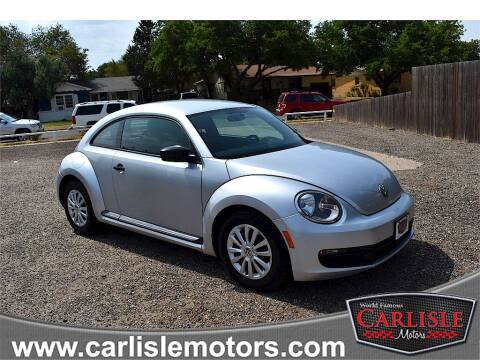 2012 Volkswagen Beetle for sale at Carlisle Motors in Lubbock TX