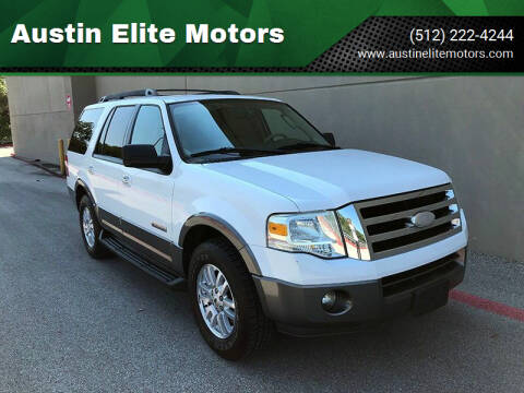 2007 Ford Expedition for sale at Austin Elite Motors in Austin TX