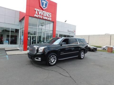 2016 GMC Yukon XL for sale at Twins Auto Sales Inc in Detroit MI
