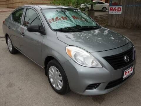 2013 Nissan Versa for sale at R & D Motors in Austin TX