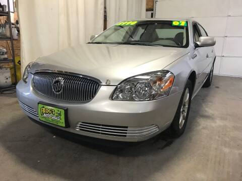 2007 Buick Lucerne for sale at Frogs Auto Sales in Clinton IA
