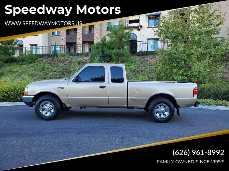 2000 Ford Ranger for sale at Speedway Motors in Glendora CA
