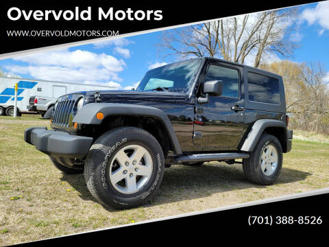 2008 Jeep Wrangler for sale at Overvold Motors in Detroit Lakes MN