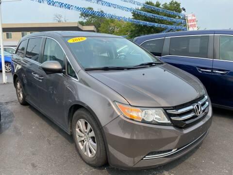 2016 Honda Odyssey for sale at WOLF'S ELITE AUTOS in Wilmington DE