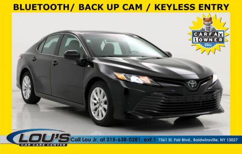 2018 Toyota Camry for sale at LOU'S CAR CARE CENTER in Baldwinsville NY