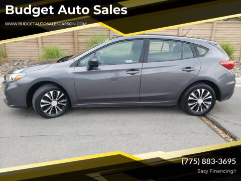 2018 Subaru Impreza for sale at Budget Auto Sales in Carson City NV