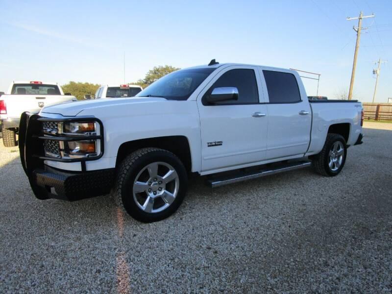2015 Chevrolet Silverado 1500 for sale at MCKAIN MOTORS in Valley Mills TX