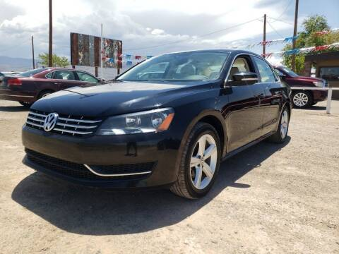 2013 Volkswagen Passat for sale at Bickham Used Cars in Alamogordo NM