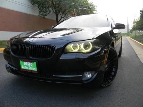 2012 BMW 5 Series for sale at Dasto Auto Sales in Manassas VA