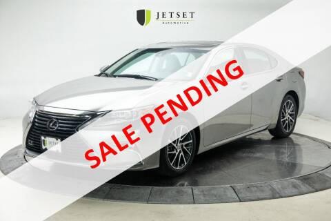 2016 Lexus ES 350 for sale at Jetset Automotive in Cedar Rapids IA