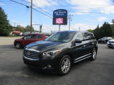 2013 Infiniti JX35 for sale at Mill Street Motors in Worcester MA