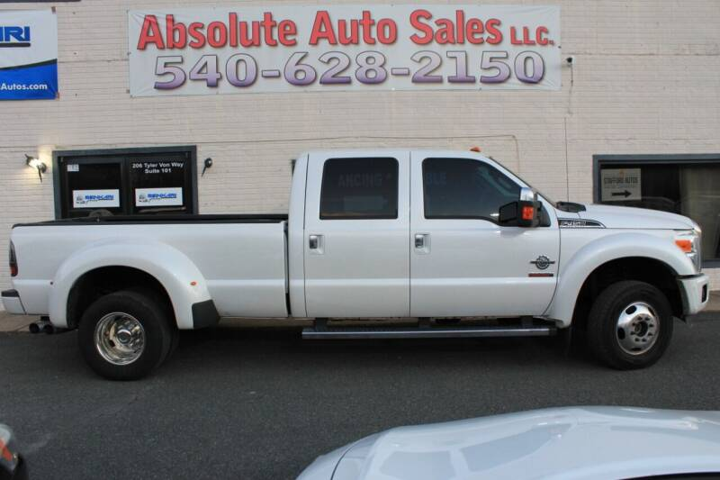 2014 Ford F-450 Super Duty for sale at Absolute Auto Sales in Fredericksburg VA