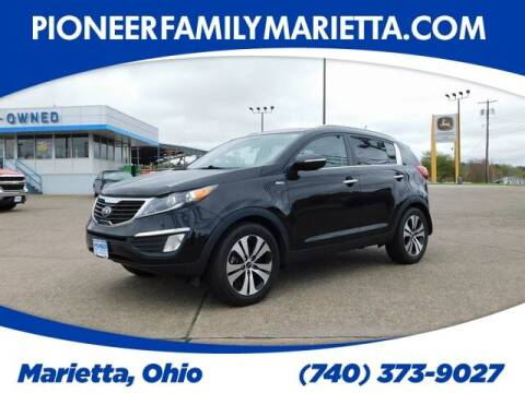 2013 Kia Sportage for sale at Pioneer Family preowned autos in Williamstown WV