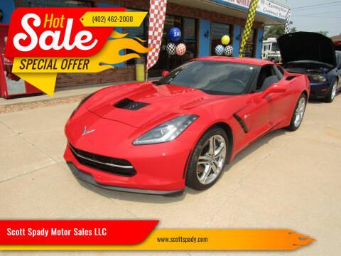 2016 Chevrolet Corvette for sale at Scott Spady Motor Sales LLC in Hastings NE
