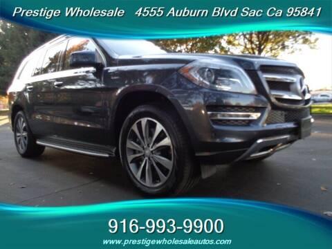 2013 Mercedes-Benz GL-Class for sale at Prestige Wholesale in Sacramento CA