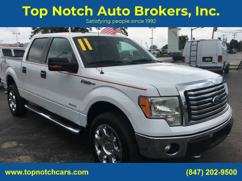 2011 Ford F-150 for sale at Top Notch Auto Brokers, Inc. in Palatine IL