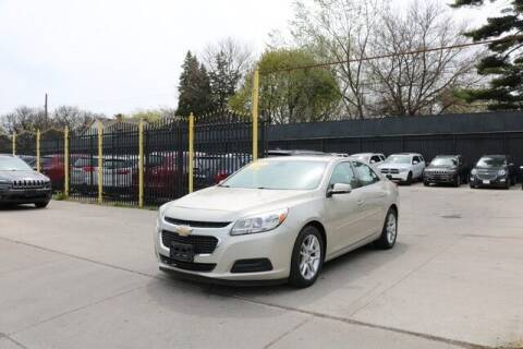 2015 Chevrolet Malibu for sale at F & M AUTO SALES in Detroit MI