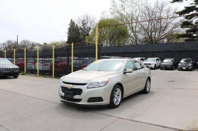 2015 Chevrolet Malibu for sale at F & M AUTO SALES in Detroit MI