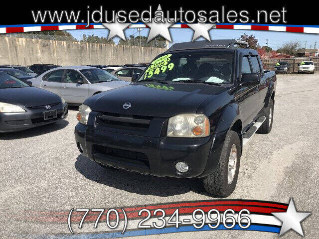 2002 Nissan Frontier for sale at J D USED AUTO SALES INC in Doraville GA