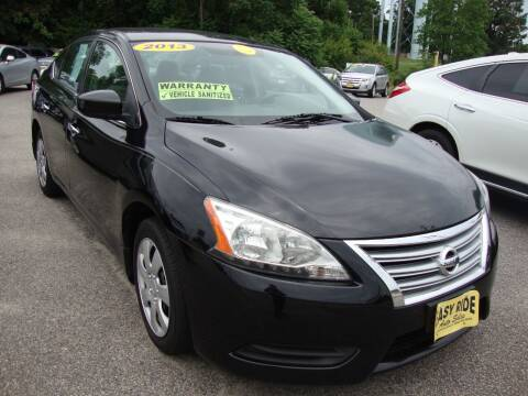 2013 Nissan Sentra for sale at Easy Ride Auto Sales Inc in Chester VA